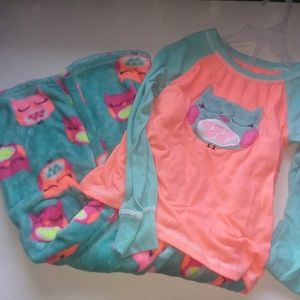 Other - Girl's 6/6X Owl Pajama Set